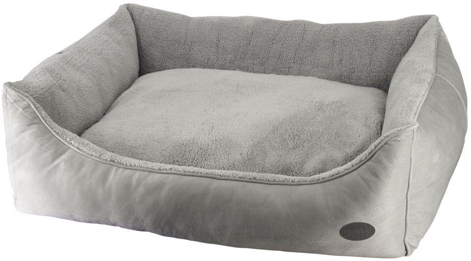 Nobby FEDO obdelníkový pelíšek šedý 80x70x23cm