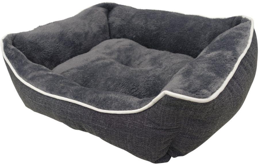 Nobby Classic obdelníkový pelíšek Arno šedá 52x41x16cm