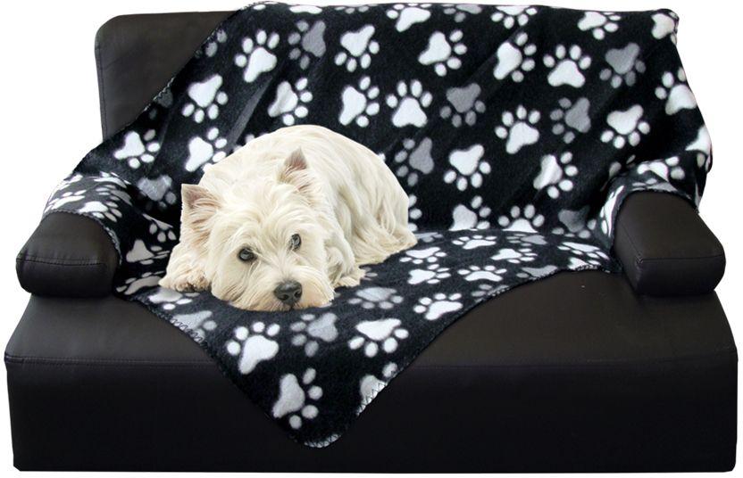 Nobby Classic PIPPA flísová deka černá 100x150cm