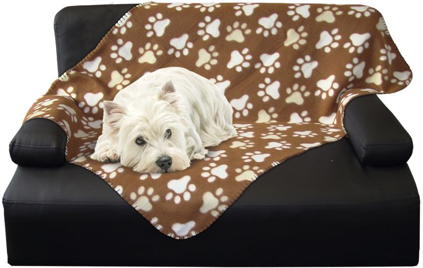 Nobby Classic PIPPA flísová deka hnědá 100x150cm