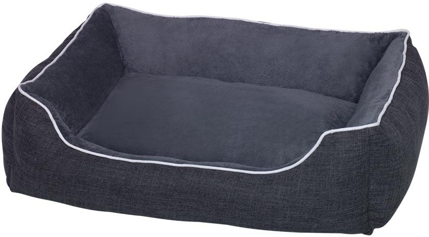 Nobby Classic obdelníkový pelíšek Purus tmavě šedá 100 x 70 x 28 cm