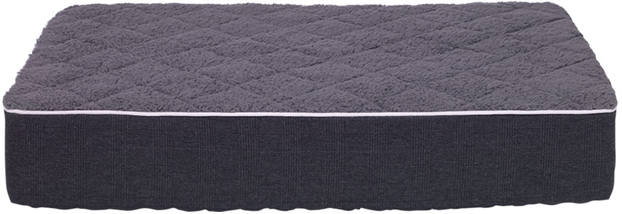 Nobby Osso ortopedická matrace pro psy tmavě šedá 100x70x16cm