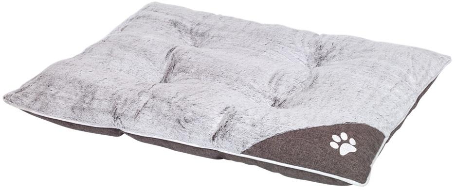 Nobby Classic obdelníkový polštář Sama světle šedá 80 x 60 x 10 cm