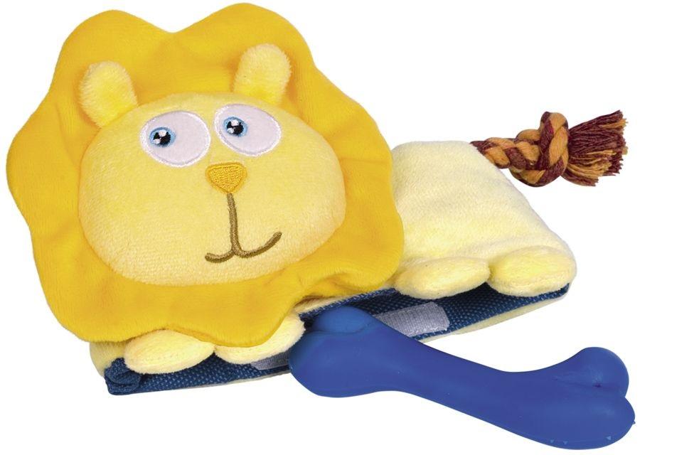 Nobby hračka 3v1 pro psa lev plyš 23cm