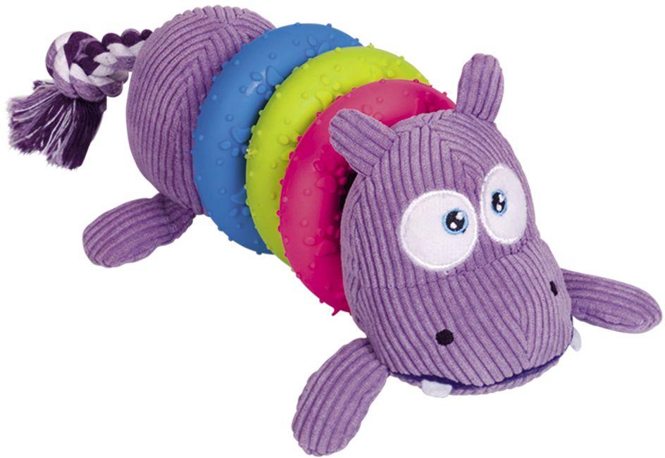 Nobby hračka pro psa barevný hroch 23cm
