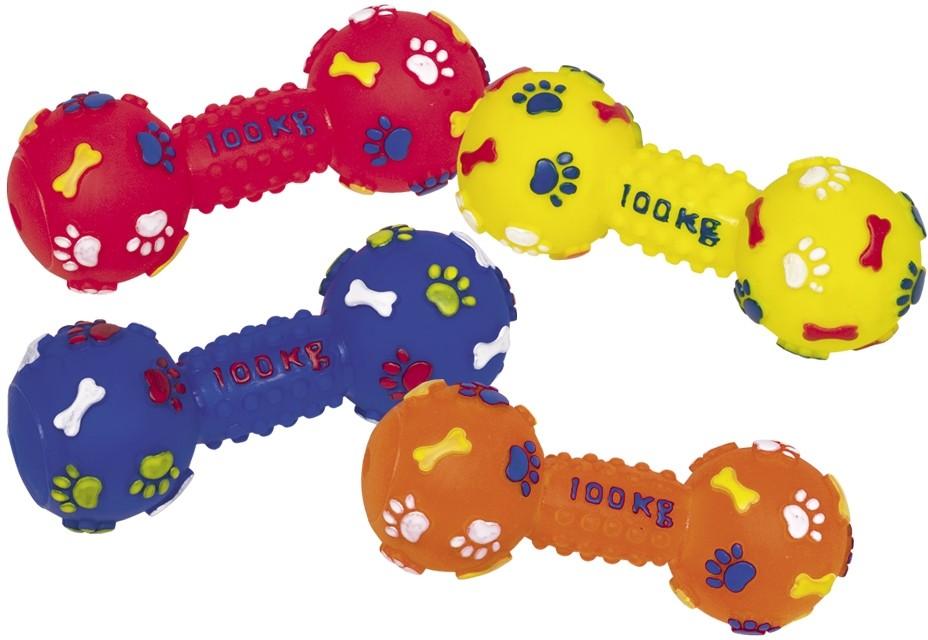 Nobby hračka pro psy činka 100 kg vinyl 14 cm 1 ks