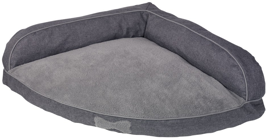 Nobby Classic DIGU rohový pelíšek světle šedá 90x90x28cm
