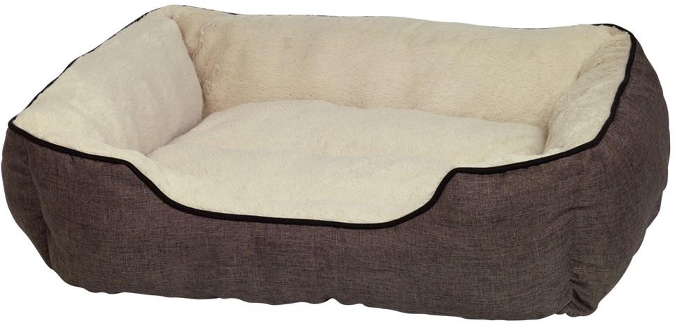 Nobby Classic obdelníkový pelíšek PRADO hnědá 85x75x24cm