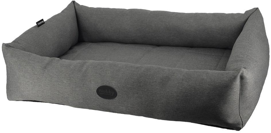 Nobby PUTU obdelníkový odolný pelíšek šedá 80x56x18cm