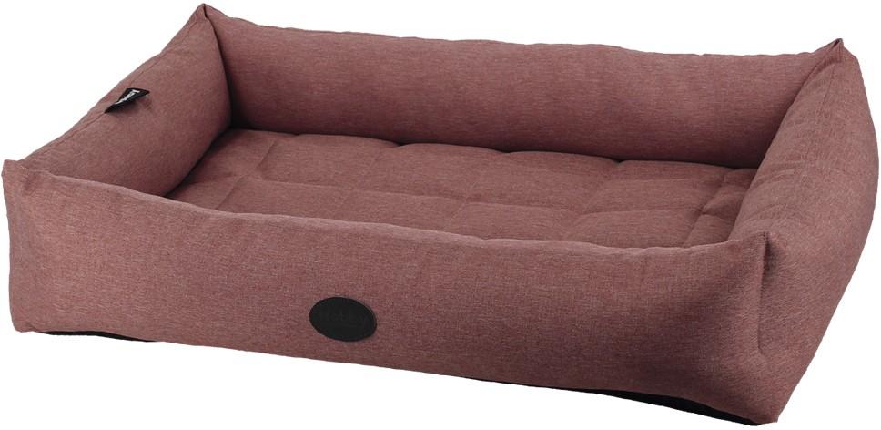 Nobby PUTU obdelníkový odolný pelíšek růžová 50x37x11cm