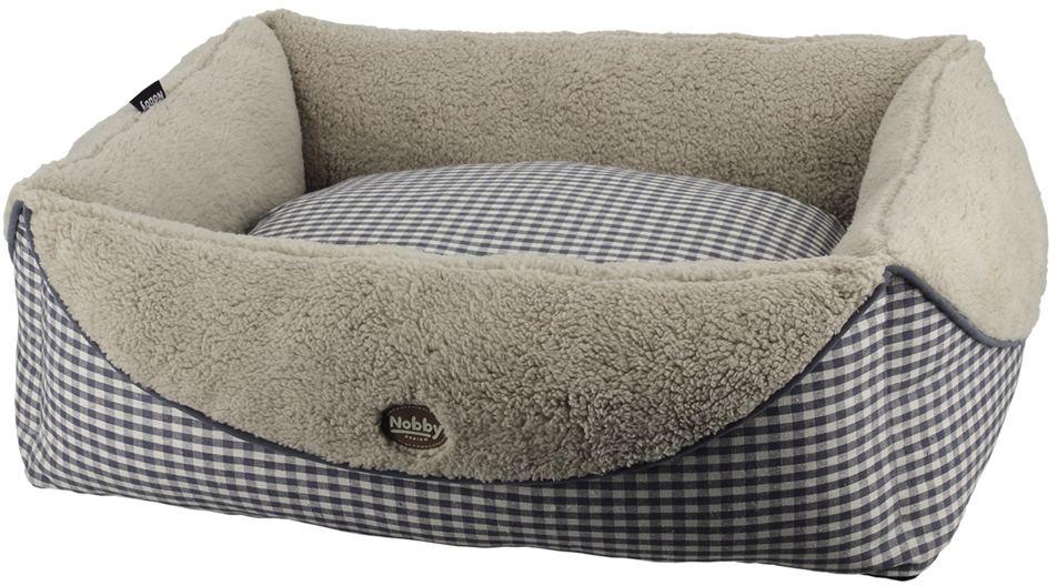 Nobby XAVER obdelníkový pelíšek šedá 60x48x18cm
