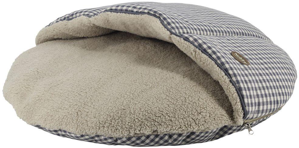 Nobby XAVER oboustranný polštář s kapsou šedá 65cm