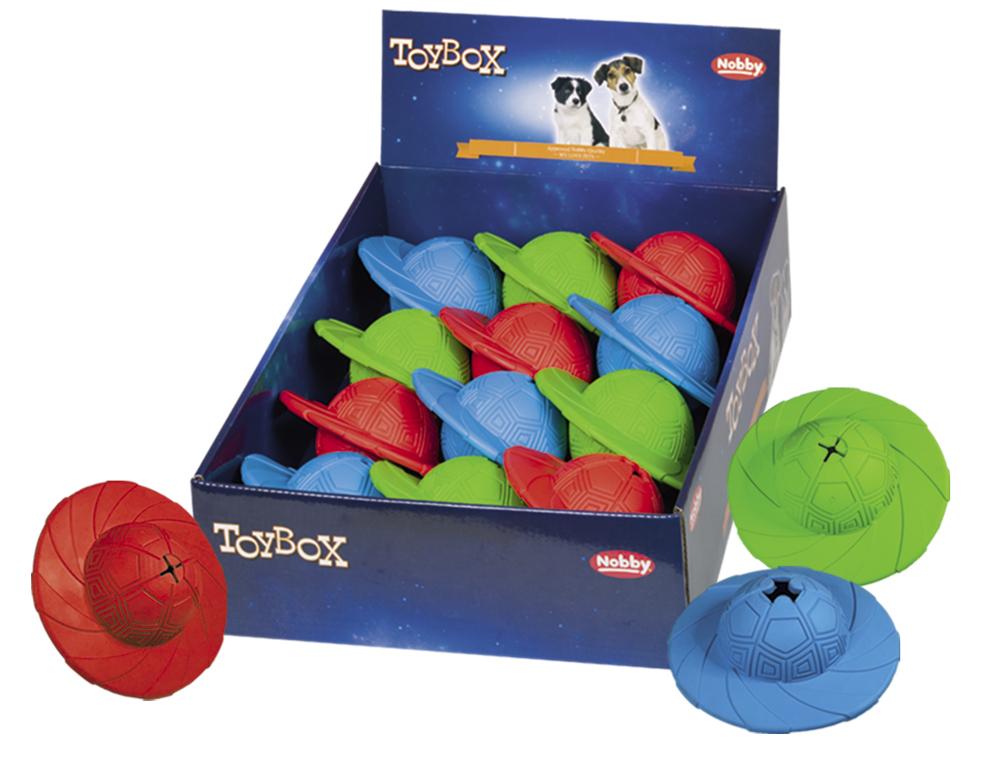 Nobby TOYBOX gumová hračka Snack-Disc 14cm 12ks