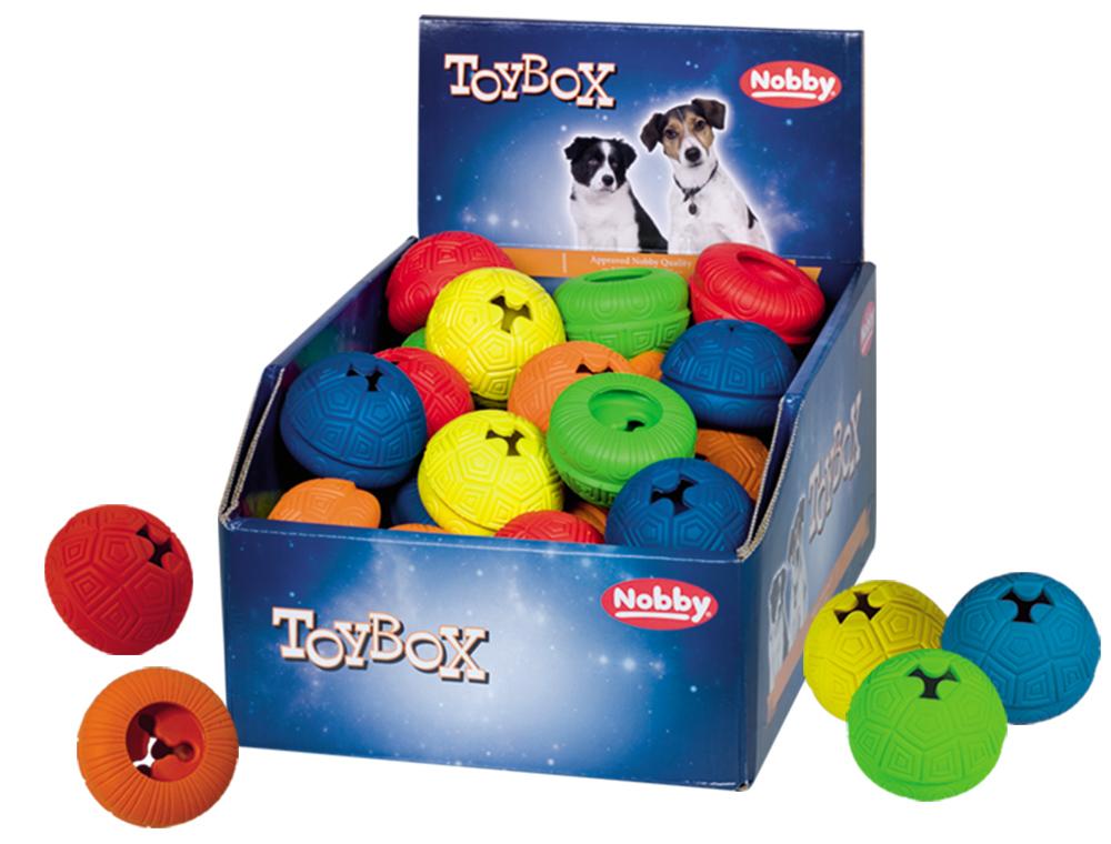 Nobby TOYBOX gumová hračka Snack-Toy 6cm 36ks