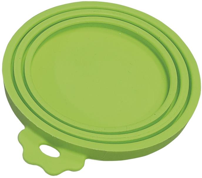 Nobby silikonové víčko na konzervy zelená 1 ks