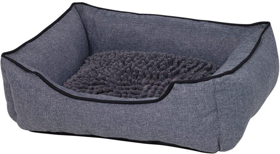 Nobby Classic obdelníkový pelíšek Moppy šedá 50 x 40 x 17 cm