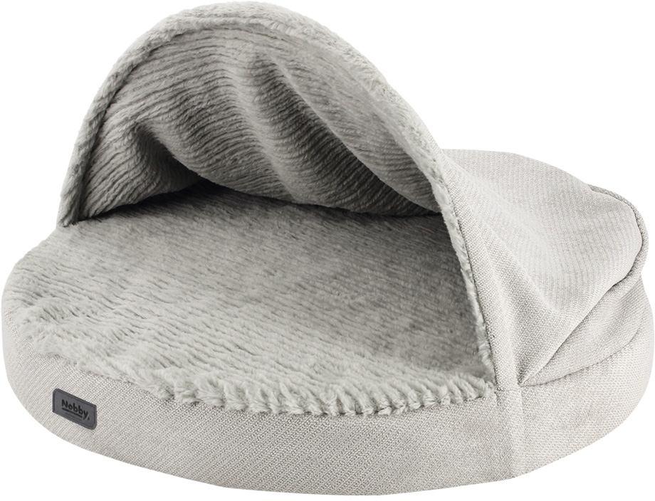 Nobby LAGO pohodlná matrace s kapsou světle šedá 65 x 7 / 30 cm