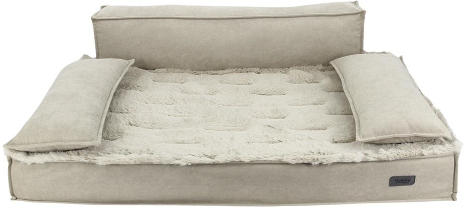 Ortopedická obdelníková pohovka Nobby Nuka pro psy béžová 92x65x10cm