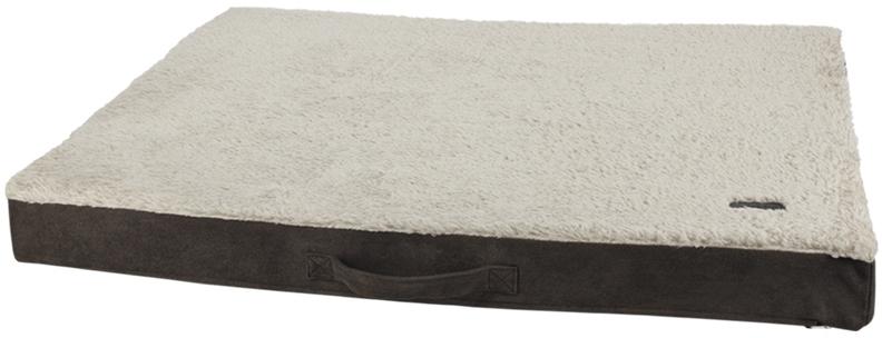 Nobby ortopedická matrace Lanin pro psy hnědá 80 x 60 x 8 cm