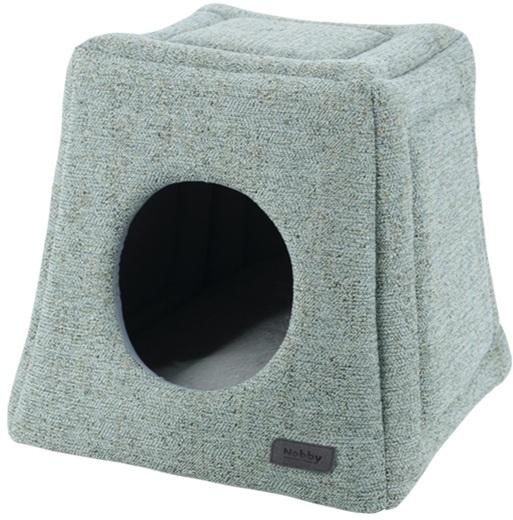 Nobby NEVIS luxusní zeleno-šedá kukaň pro psy 38x38x35cm