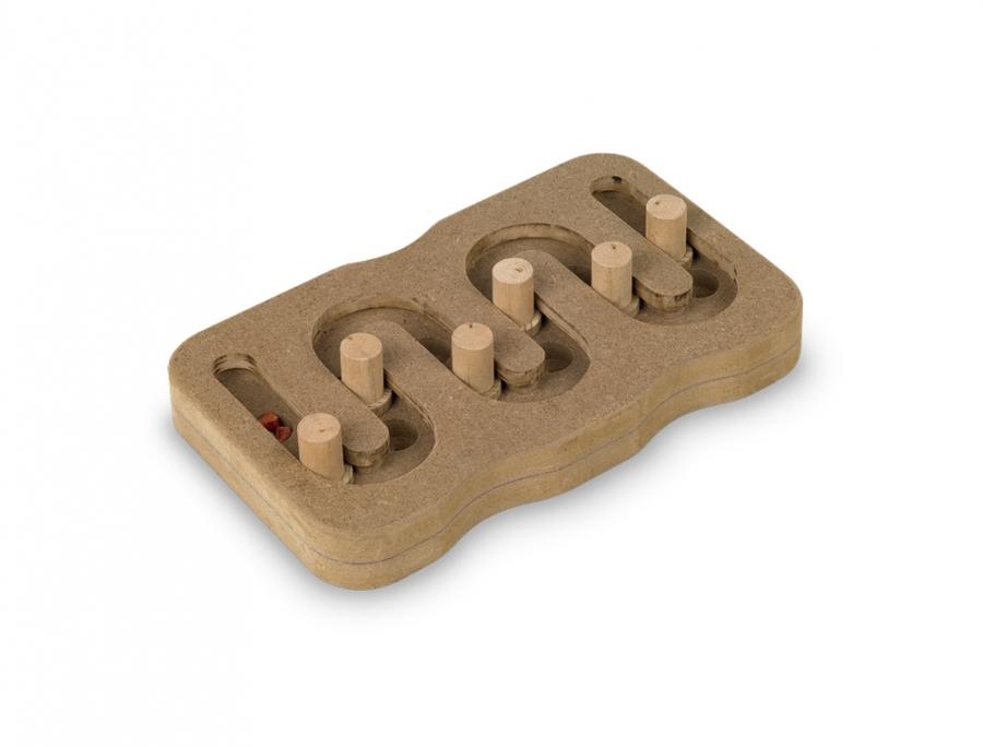Nobby BrainBoard Snake interaktivní hračka 25x15cm