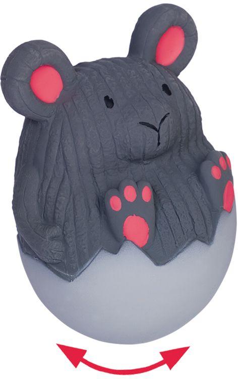 """Nobby hračka pro psy latexová myš """"stand-up"""" 13cm"""