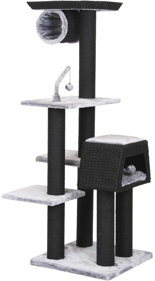 Nobby RADUN luxusní škrabadlo pro kočky černé 174cm