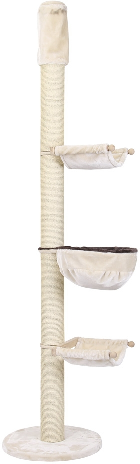 Nobby AMDO škrabadlo pro kočky do stropu béžová 245-270 cm