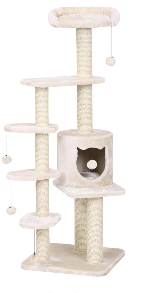 Nobby CHARI škrabadlo pro kočky béžové 144cm