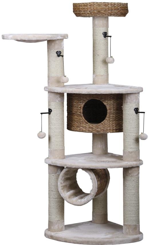 Nobby NAMCO škrabadlo pro kočky z listů banánovníku 168cm
