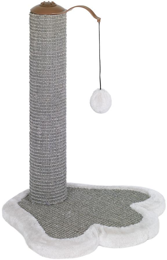 Nobby PAW škrábací kmen s hračkou pro kočku 40x38x50cm