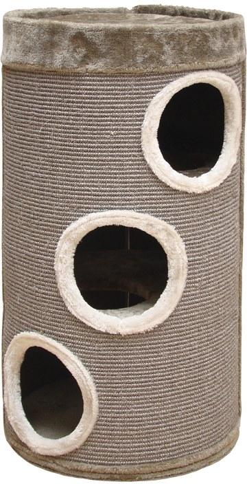 Nobby SLADANA škrábací válec pro kočky béžově šedý 80cm