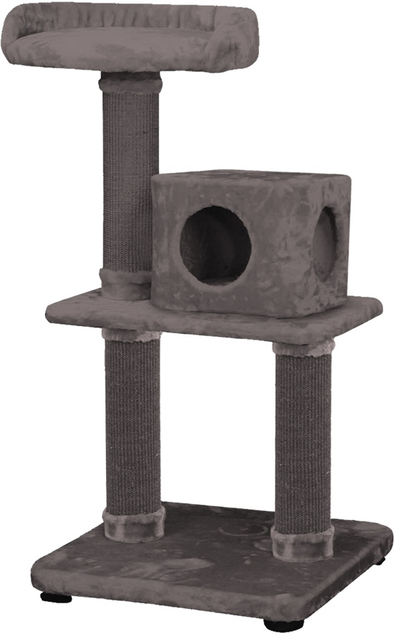 Nobby škrabadlo Badu pro kočky nad 10kg 115cm tmavě šedá