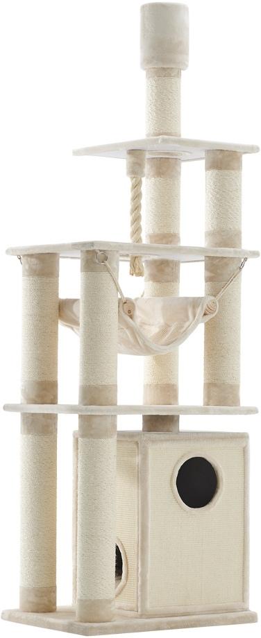 Nobby výškově nastavitelné škrabadlo Telde pro kočky 232-252cm krémová