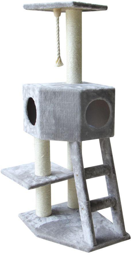 Nobby Classic Fano patrové škrabadlo pro kočku šedá 121cm