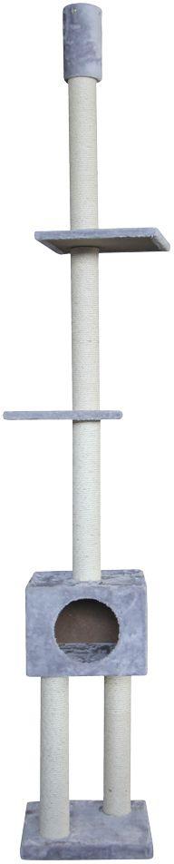 Nobby Classic Lana škrabadlo ke stropu šedá 239-259cm