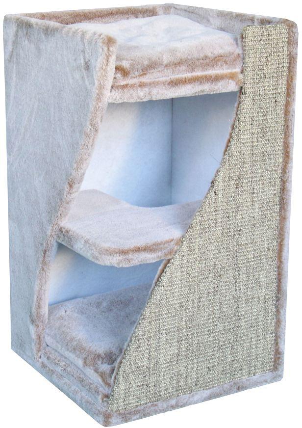 Nobby Kari M patrová škrábací věž s jeskyní hnědá 70cm