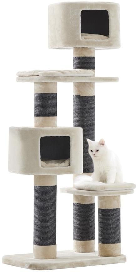 Nobby patrové škrabadlo Loano pro kočky 164 cm krémová