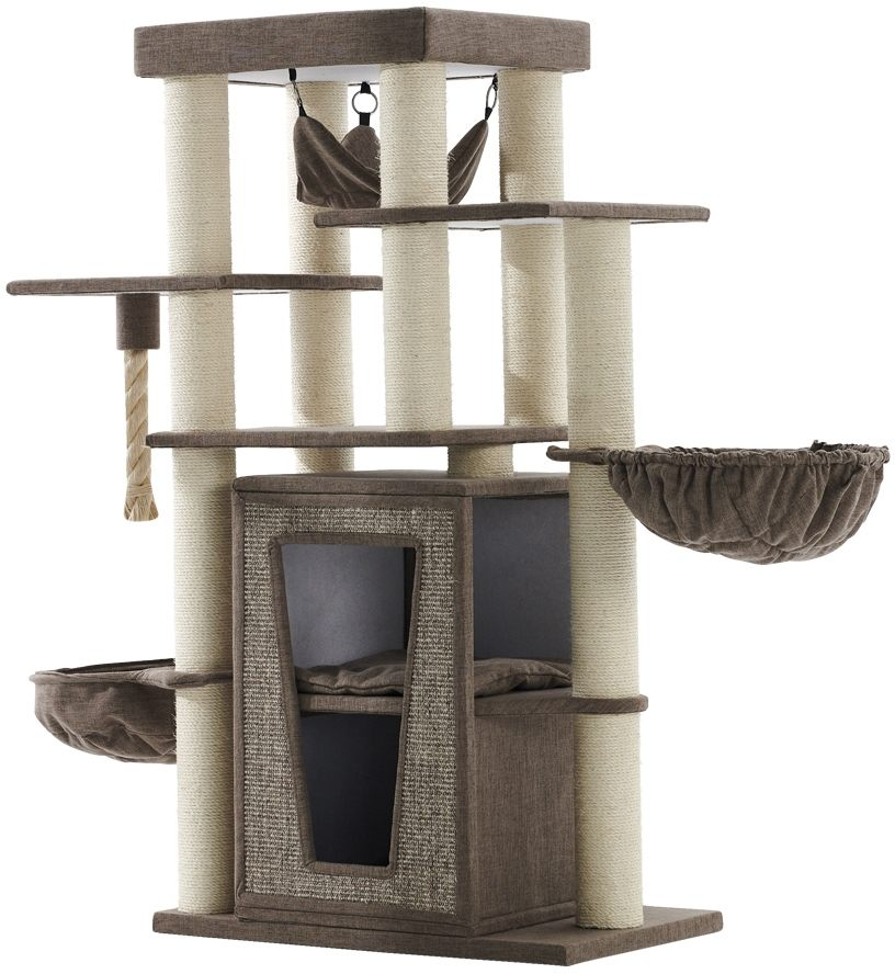 Nobby patrové škrabadlo Hital pro kočky 157 cm hnědá