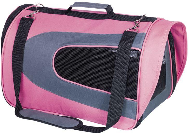 Nobby KANDO L přepravní taška do 7kg růžová 47x28x28cm