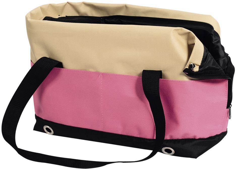 Nobby SALTA přepravní taška do 6kg růžová 40x22x28cm