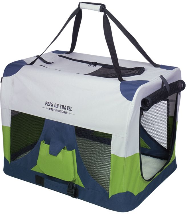 Nobby Traveller XL Fashion nylonový box kennelka 82x59x59cm