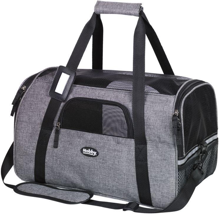 Nobby přepravní taška CANDO do 8kg šedá 44 x 25 x 25 cm