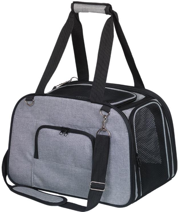 Nobby přepravní taška TALI do 7kg šedá 43 x 28 x 28 cm