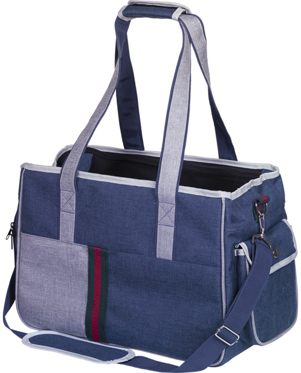 Nobby přepravní taška SEMU do 6kg modrá 40 x 22 x 28 cm