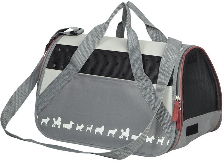 Nobby přepravní taška CEBU do 6kg šedá 42 x 24 x 26 cm