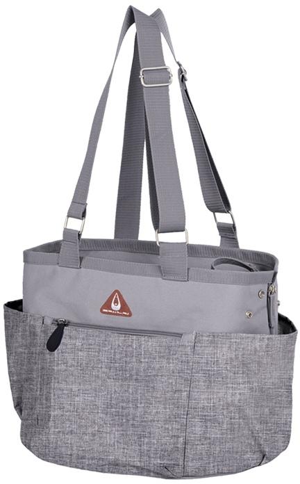 Nobby přepravní taška DELOS pro kočky a psy do 7kg šedá melange 37x30x27cm