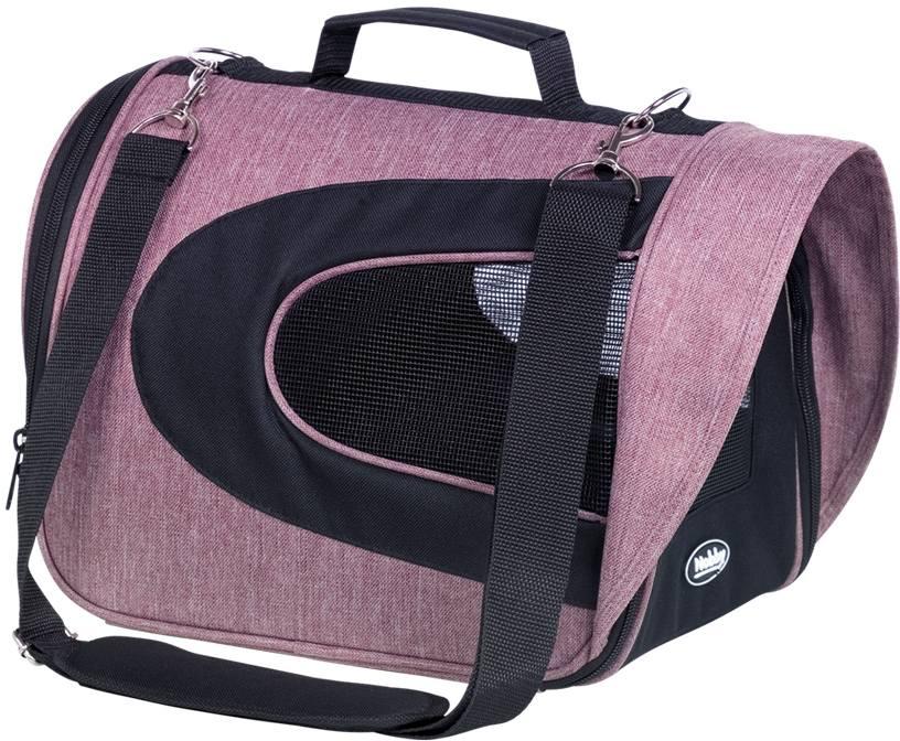 Nobby přepravní taška KANDO starorůžová šedá 34x23x24cm