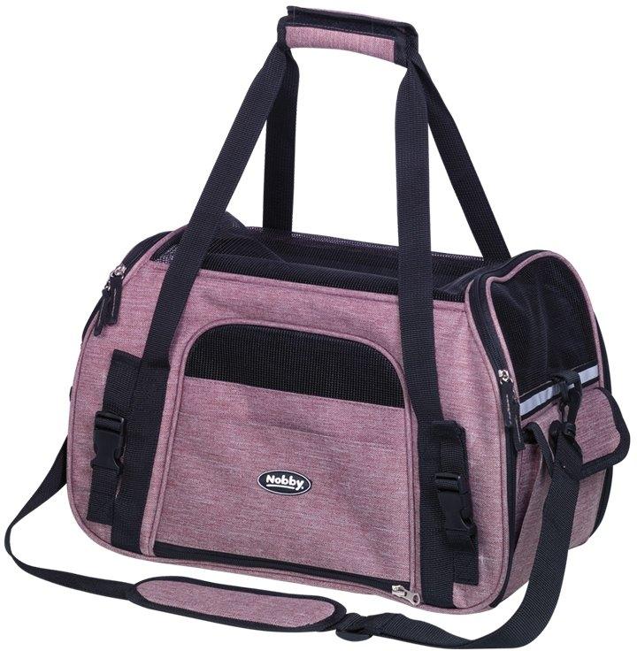 Nobby přepravní taška LUJAN velikost M špinavě růžová 43 x 23 x 29cm