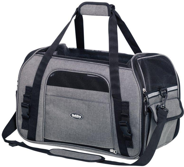 Nobby přepravní taška LUJAN velikost L šedá 48 x 25 x 33cm